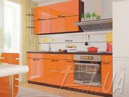 """Кухня """"Мода"""" 2,2 м"""