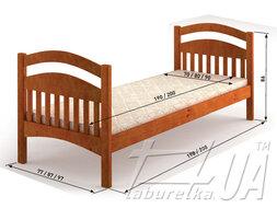 """Ліжко """"Жасмін люкс"""""""